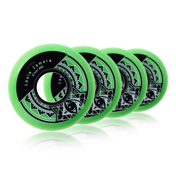 circolo-louie-zamora-wheels-57mm-green