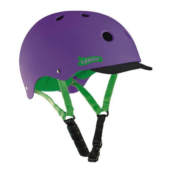 casco-leben-morado-verde